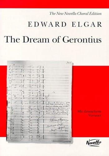 ELGAR - The Dream Of Gerontius Op. 38 - Partition - di-arezzo.com