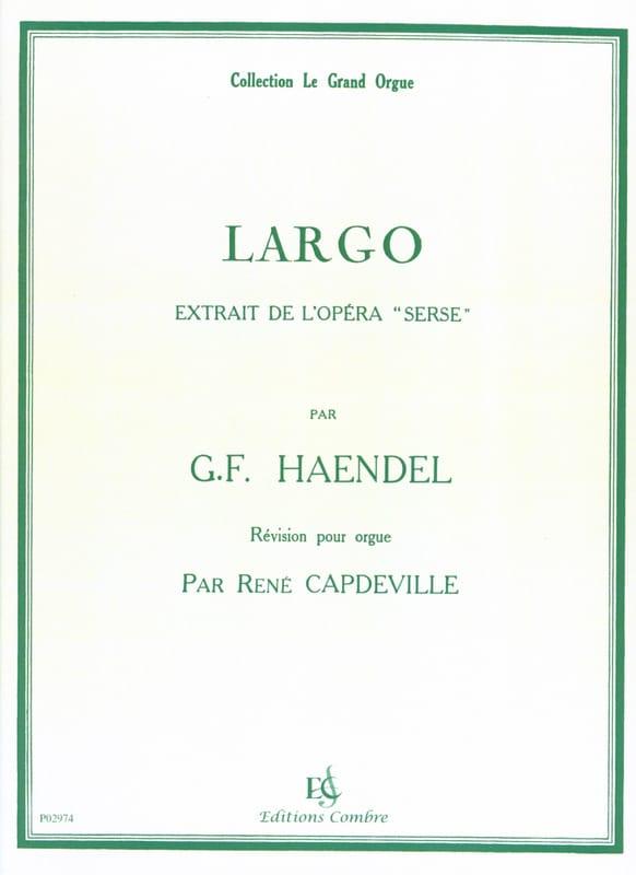 HAENDEL - Largo - Partition - di-arezzo.fr