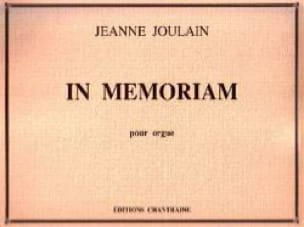 In Memoriam - Jeanne Joulain - Partition - Orgue - laflutedepan.com
