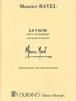 Maurice Ravel - The waltz. 2 Pianos - Partition - di-arezzo.co.uk