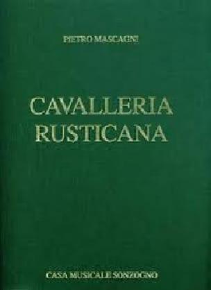 Pietro Mascagni - Cavalleria Rusticana - Partition - di-arezzo.co.uk