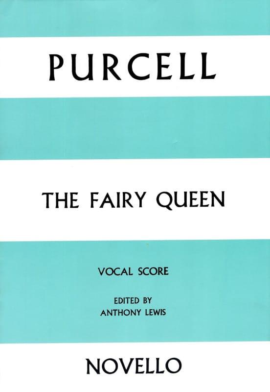 The Fairy Queen - PURCELL - Partition - Opéras - laflutedepan.com