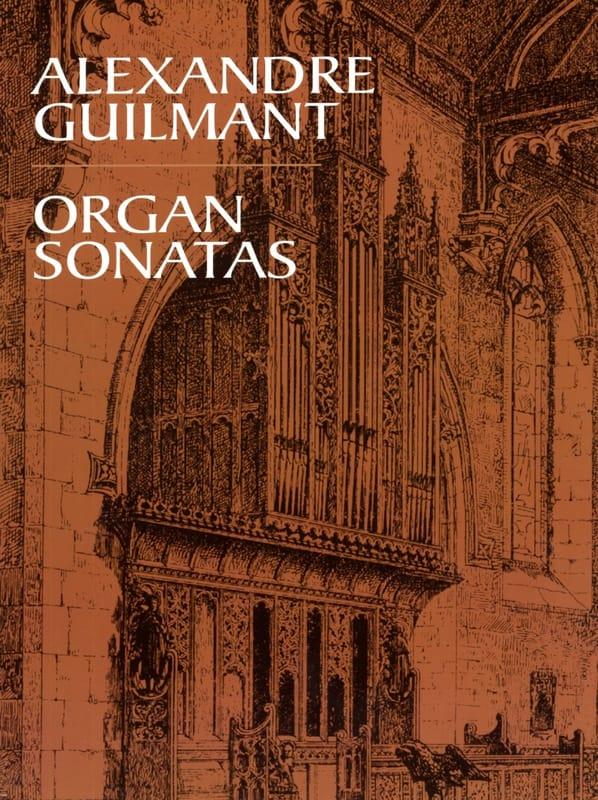 5 Sonates Pour Orgue - Alexandre Guilmant - laflutedepan.com
