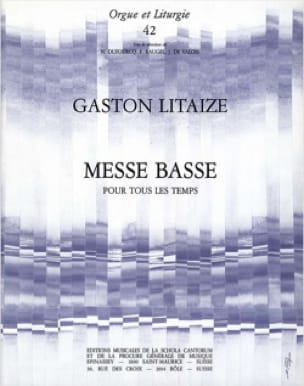 Gaston Litaize - Low Mass For All Time - Partition - di-arezzo.com