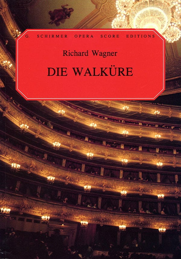 Richard Wagner - Die Walküre Wwv 86b - Partition - di-arezzo.com