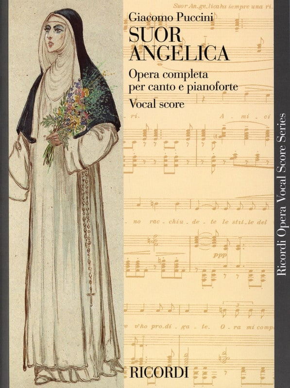 Giacomo Puccini - Suor Angelica. - Partition - di-arezzo.co.uk