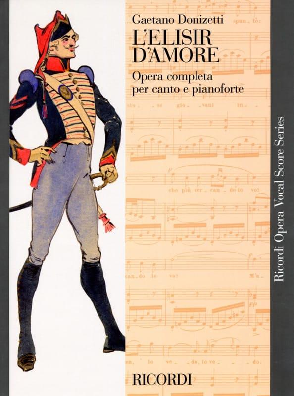 Gaetano Donizetti - El Elisir D'amore - Partition - di-arezzo.es