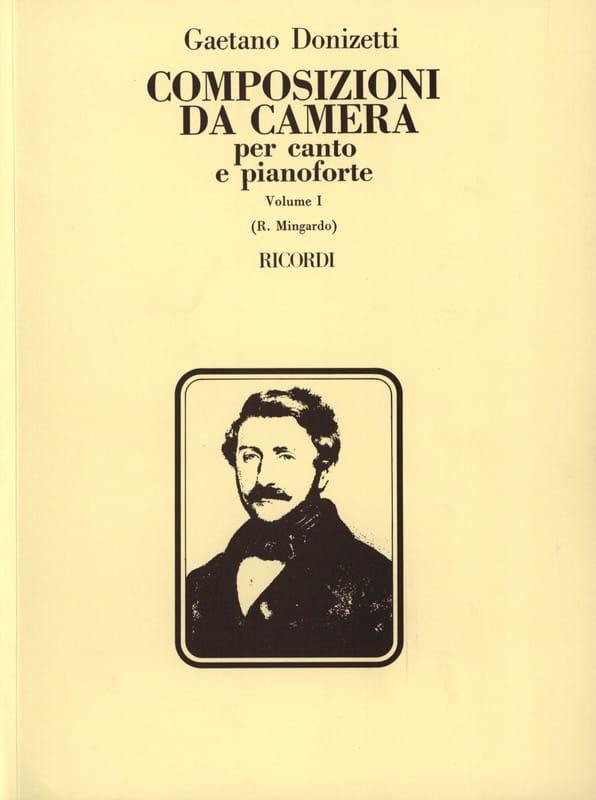 Gaetano Donizetti - Composizioni Da Camera. Volumen 1 - Partition - di-arezzo.es