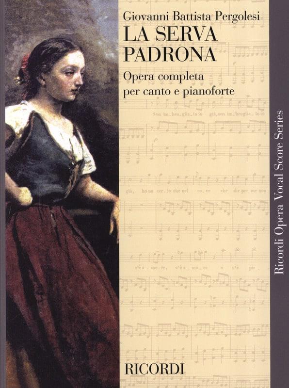 La Serva Padrona - PERGOLESE - Partition - Opéras - laflutedepan.com