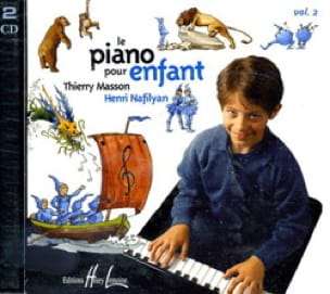 MASSON - NAFILYAN - Piano para niños Volumen 2 Cd - Partition - di-arezzo.es