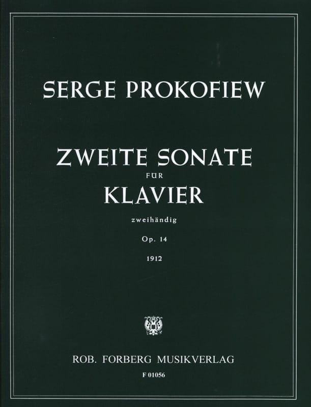 Sergei Prokofiev - Sonata para piano n.º 2 Opus 14 - Partition - di-arezzo.es