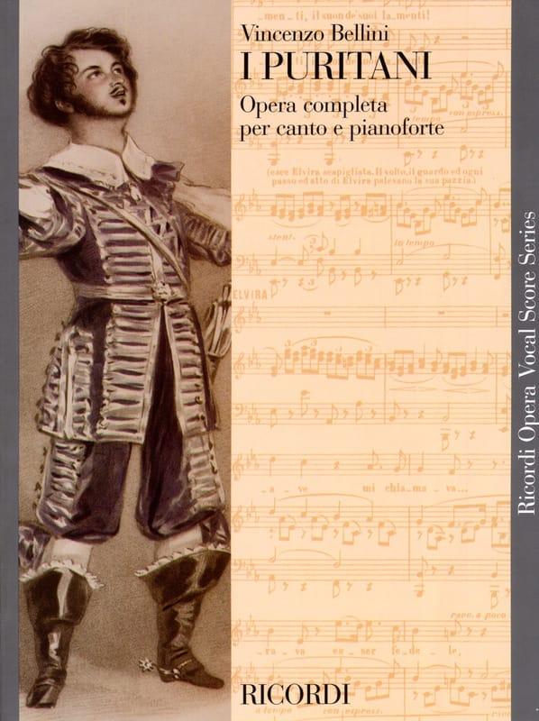 I Puritani - BELLINI - Partition - Opéras - laflutedepan.com