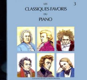 Classiques Favoris Volume 3 CD - Partition - laflutedepan.com