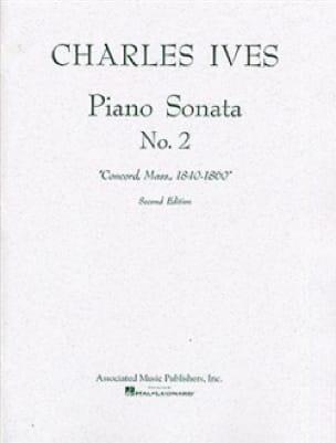 Piano Sonata N°2 - IVES - Partition - Piano - laflutedepan.com