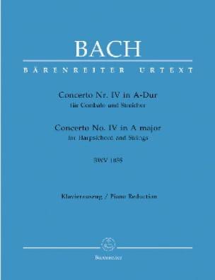 Concerto Pour Clavier En La majeur BWV 1055 - BACH - laflutedepan.com