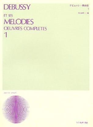 DEBUSSY - Melodías. Volumen 2 - Partition - di-arezzo.es
