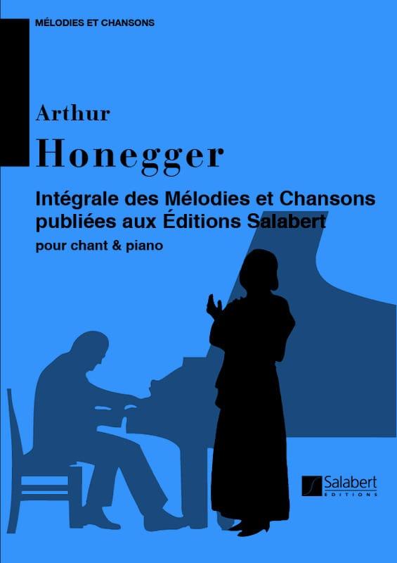 Mélodies et Chansons - HONEGGER - Partition - laflutedepan.com