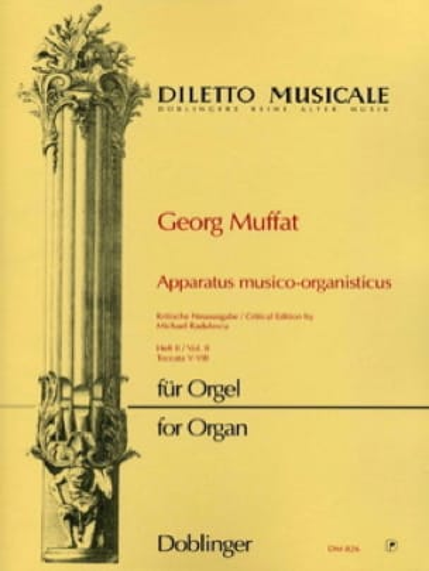 Georg Muffat - Apparatus Musico-Organisticus Volume 2 - Partition - di-arezzo.fr