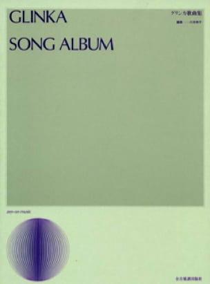 Song Album - Mikhail Glinka - Partition - Mélodies - laflutedepan.com