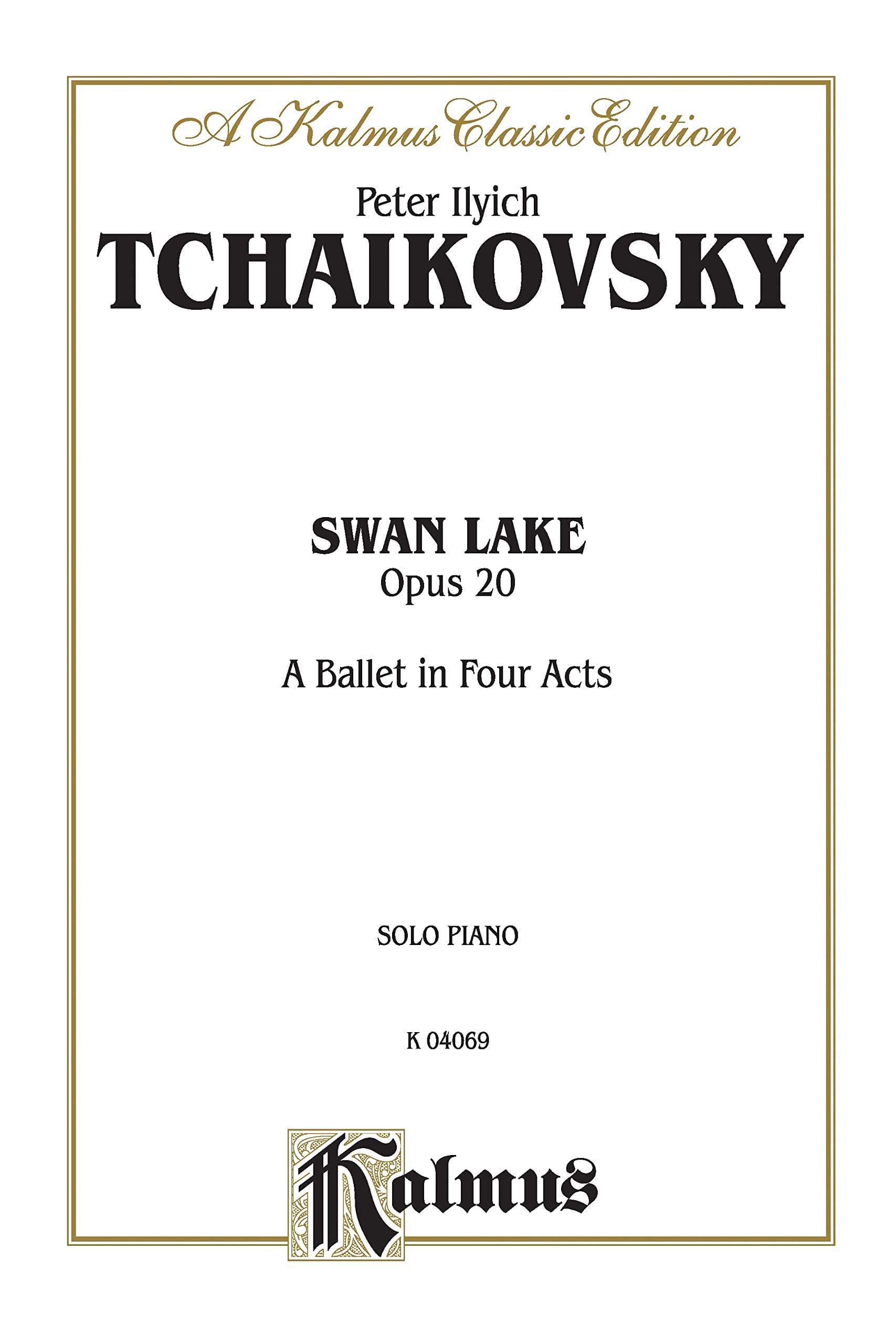 Le Lac Des Cygnes Opus 20 - TCHAIKOVSKY - Partition - laflutedepan.com