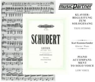 SCHUBERT - Schwanengesang. Vx Grave Cd - Partition - di-arezzo.com