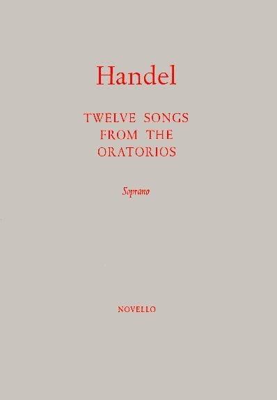 12 Songs From The Oratorios. Soprano - HAENDEL - laflutedepan.com