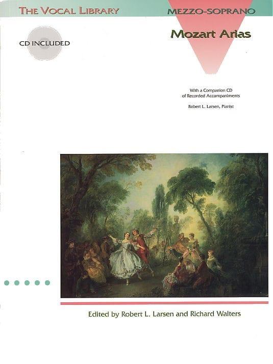MOZART - Mozart Arias. mezzo - Partition - di-arezzo.co.uk