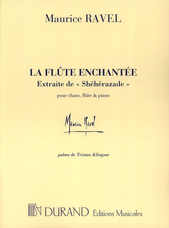 La Flûte Enchantée - RAVEL - Partition - laflutedepan.com