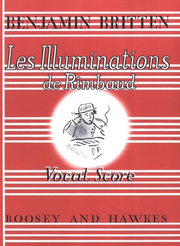 Les Illuminations de Rimbaud Opus 18 - BRITTEN - laflutedepan.com