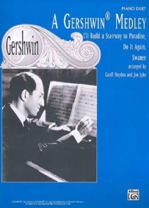 A Gershwin Medley. 4 Mains - GERSHWIN - Partition - laflutedepan.com