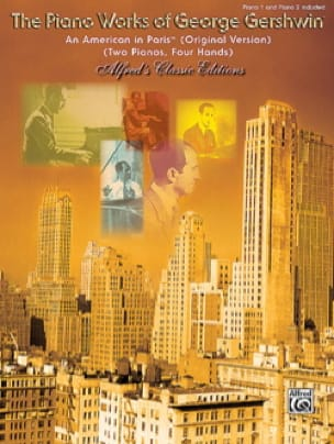 Georges Gershwin - Ein Amerikaner in Paris. 2 Klaviere - Partition - di-arezzo.de