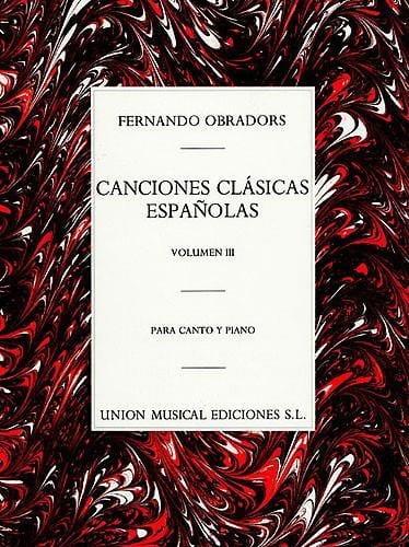 Canciones Clasicas Espanolas Volume 3 - laflutedepan.com