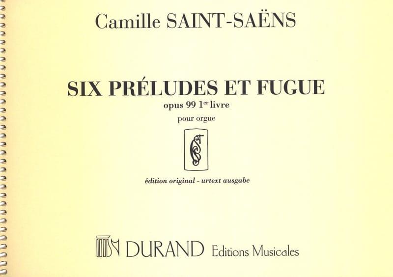 6 Préludes et Fugues - Opus 99 - Volume 1 - laflutedepan.com