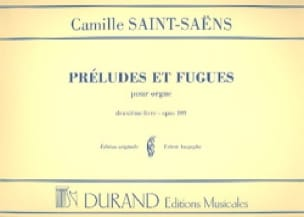 Camille Saint-Saëns - 6 Preludes and Fugues - Opus 109 - Volume 2 - Partition - di-arezzo.com