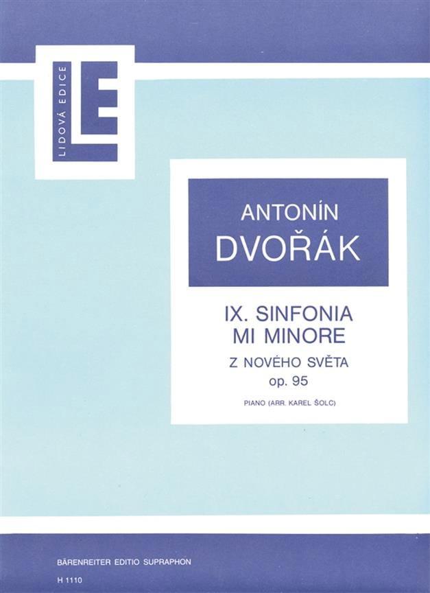 DVORAK - New World Symphony Opus 95 - Partition - di-arezzo.co.uk