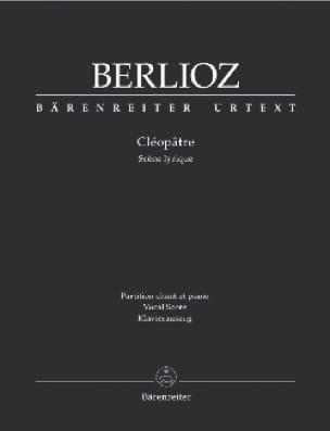 BERLIOZ - Cleopatra - Partition - di-arezzo.es