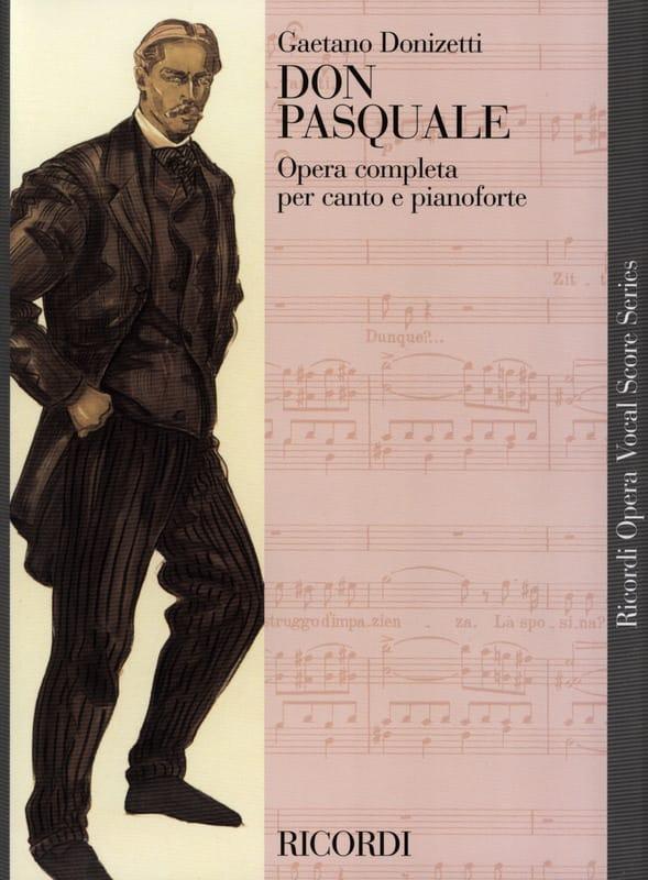 Gaetano Donizetti - Don Pasquale. - Partition - di-arezzo.com
