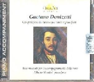 Gaetano Donizetti - Composizioni Da Camera. CD - Partition - di-arezzo.es