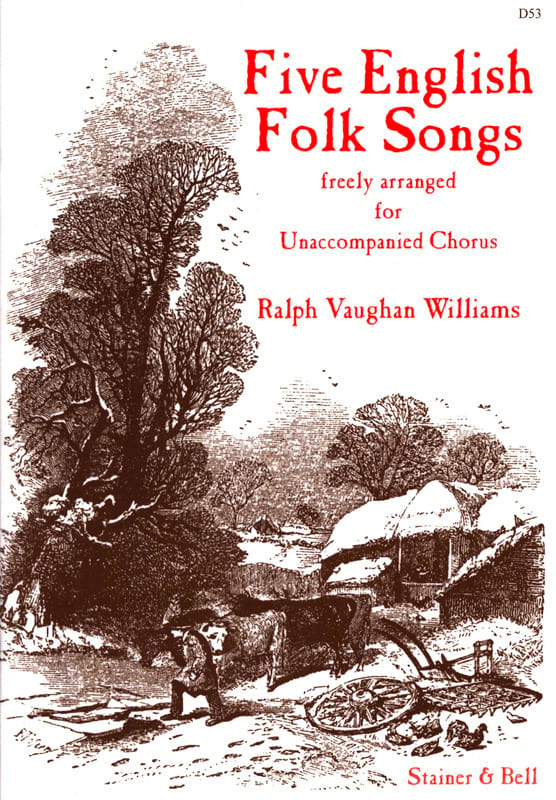 Williams Ralph Vaughan - 5 English Folk Songs - Partition - di-arezzo.com