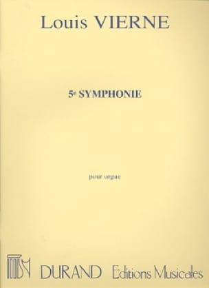 Symphonie N°5 Opus 47 - VIERNE - Partition - Orgue - laflutedepan.com