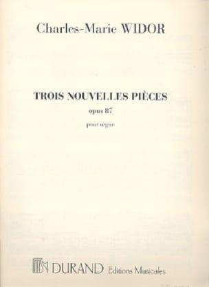 3 Nouvelles Pièces Opus 87 - WIDOR - Partition - laflutedepan.com