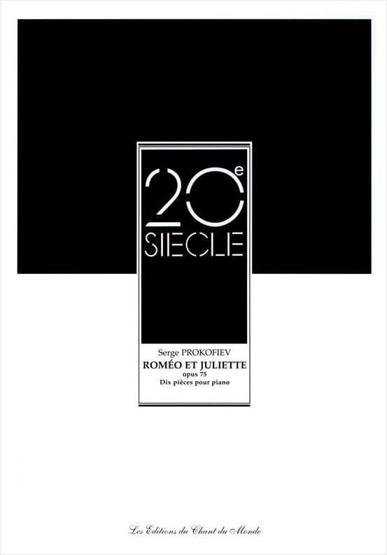 Sergei Prokofiev - 10 Pièces de Roméo et Juliette Opus 75 - Partition - di-arezzo.ch