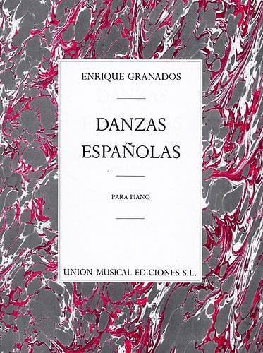 Enrique Granados - 12 Spanish dances - Partition - di-arezzo.co.uk