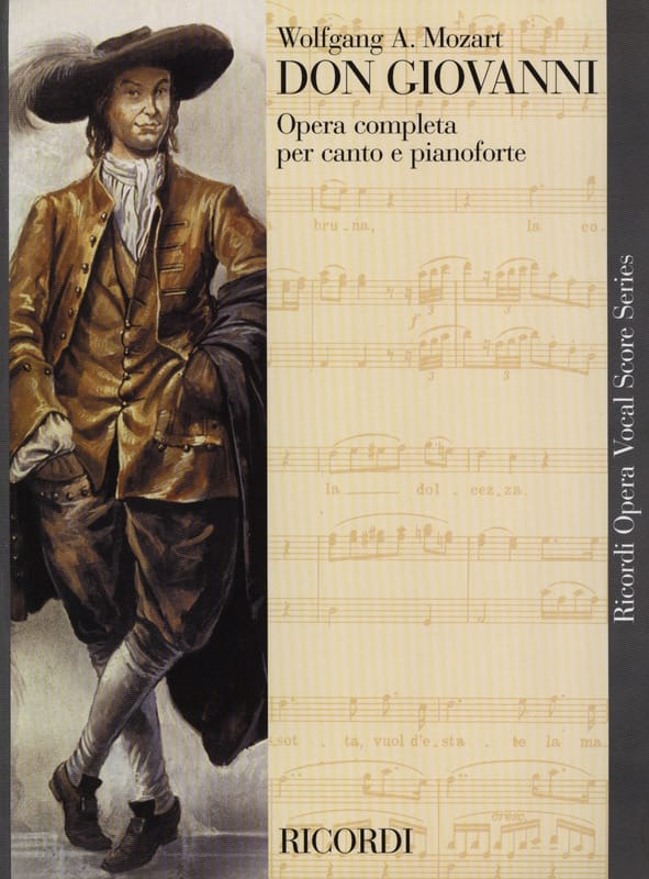 MOZART - Don Giovanni K 527 - Partition - di-arezzo.it