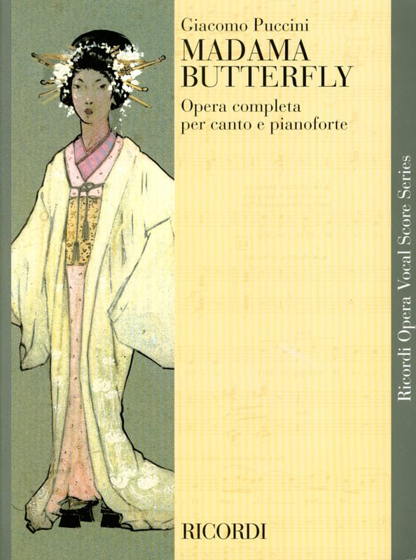 Giacomo Puccini - Madama Butterfly - Partition - di-arezzo.co.uk