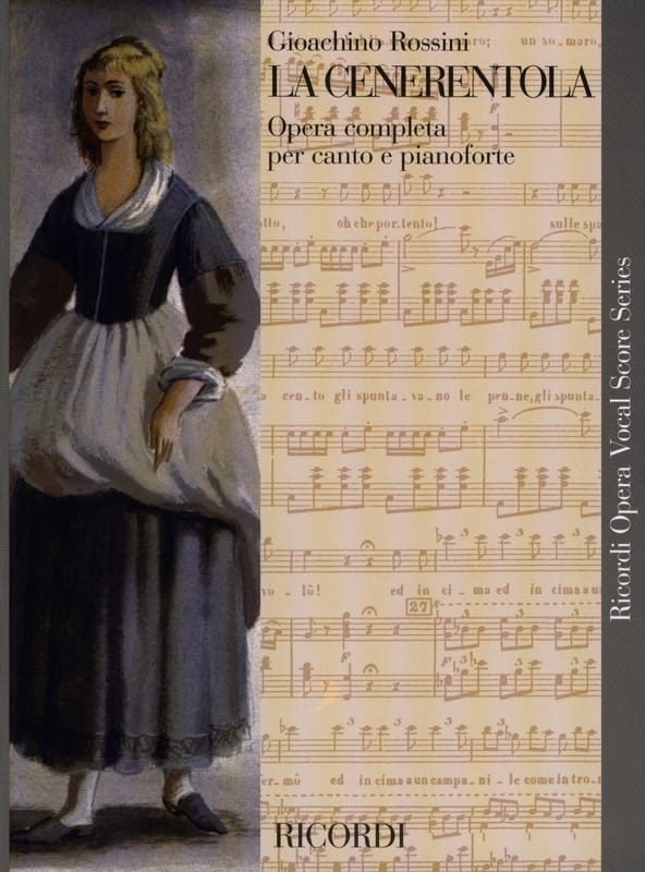 Gioachino Rossini - The Cenerentola - Partition - di-arezzo.co.uk