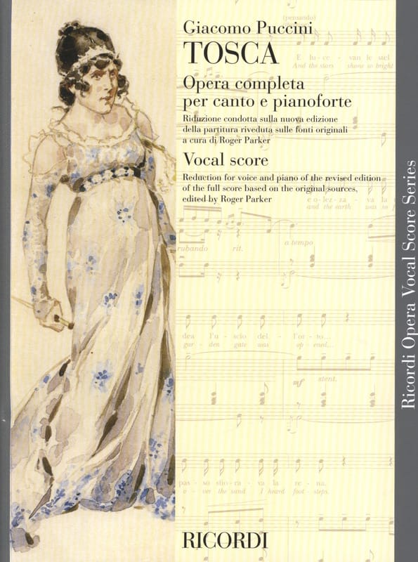 Giacomo Puccini - Tosca - Partition - di-arezzo.co.uk