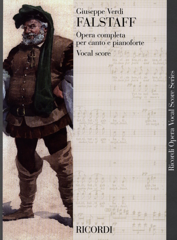 VERDI - Falstaff - Partition - di-arezzo.co.uk