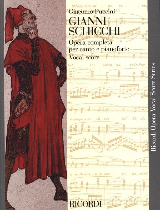 Giacomo Puccini - Gianni Schicchi - Partition - di-arezzo.com