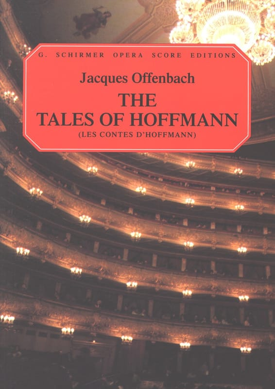 Jacques Offenbach - The Hoffmann Tales - Partition - di-arezzo.co.uk